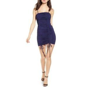 NWT TIGER MIST Zion Ruched Mini Dress #RR16